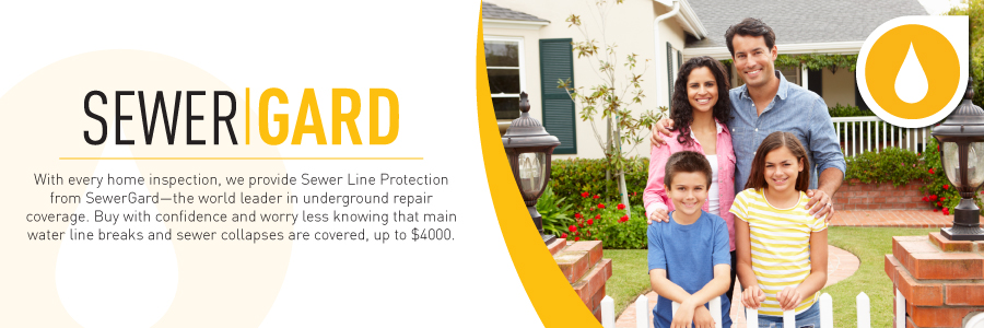 Free SewerGard with all Blaine, Twin City Home Inspections